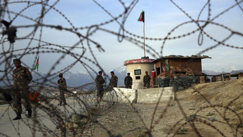Afganistan vojaci bagram