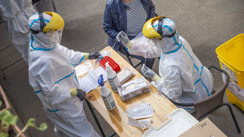 KORONAVÍRUS: Testovanie v DSS Sibírka