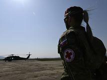 transport vrtuľník Trenčín koronavírus vojak OS vojačka