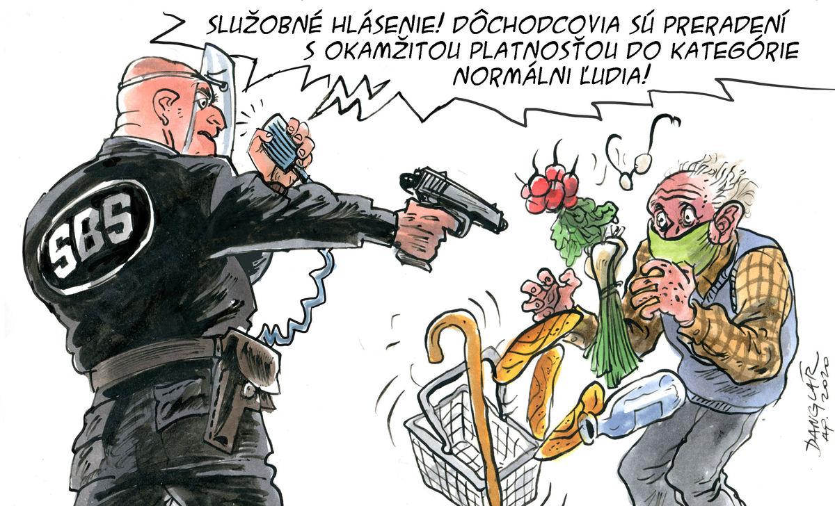 Karikatúra 25.04.2020