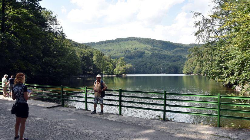 Vihorlatské vrchy / jazero / Morské oko /