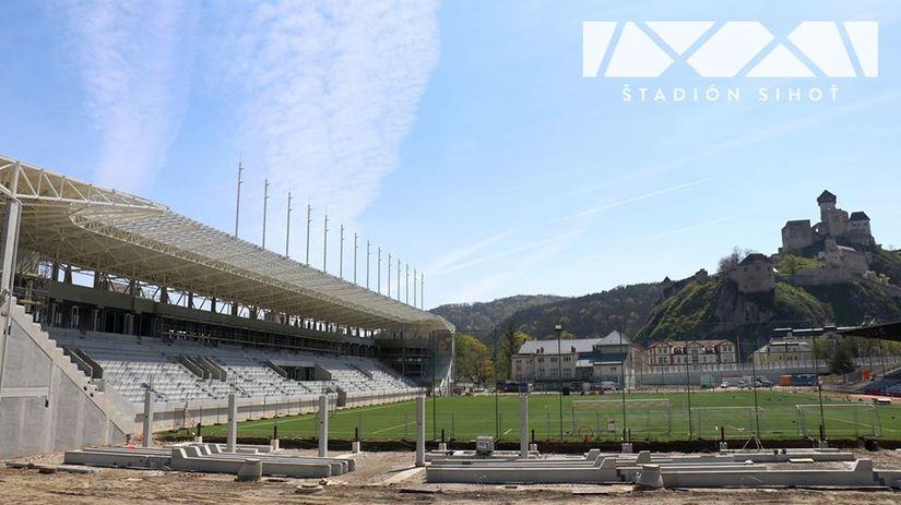 Štadión AS Trenčín - apríl 2020