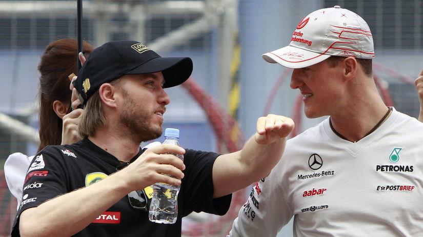 Nick Heidfeld, Michael Schumacher