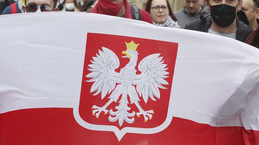 Poľsko / Vlajka / Zástava /