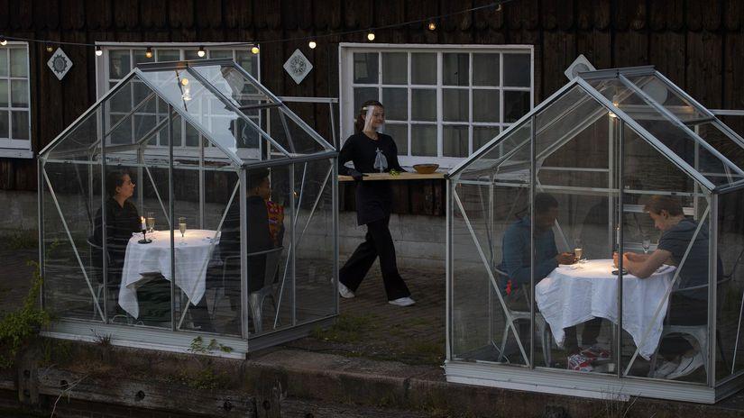 holandsko reštaurácia koronavírus amsterdam