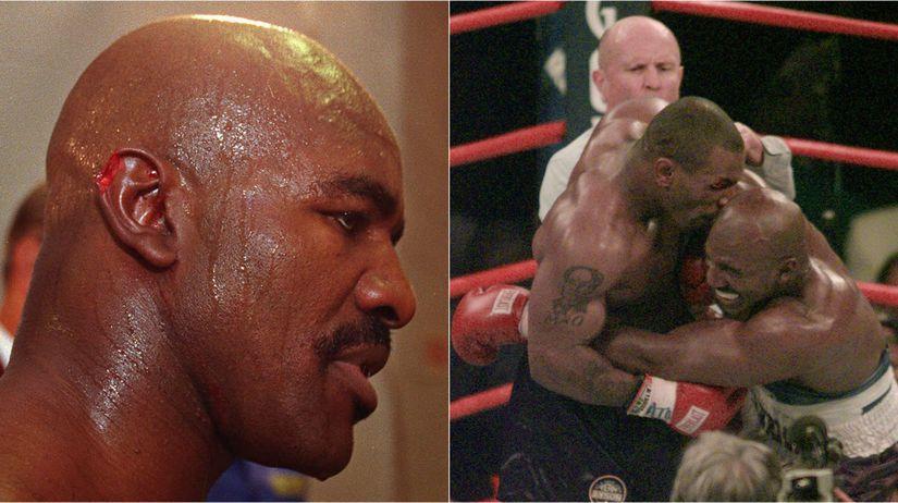 Mike Tyson, Evander Holyfield,