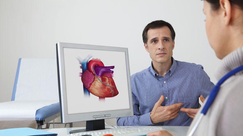 srdce, kardiológ, pacient, doktor