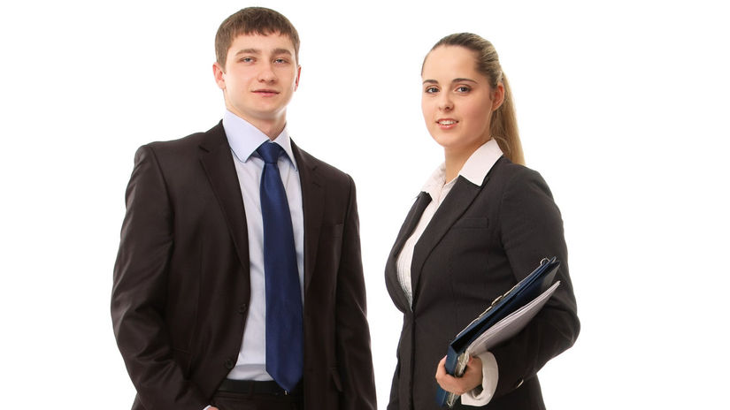 muž, žena, práca, právnik, papiere, fascikel