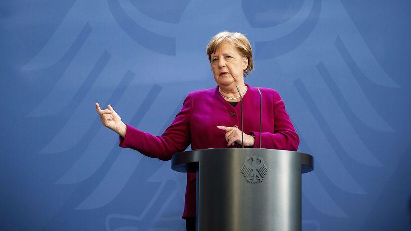 Virus Outbreak Germany Merkel