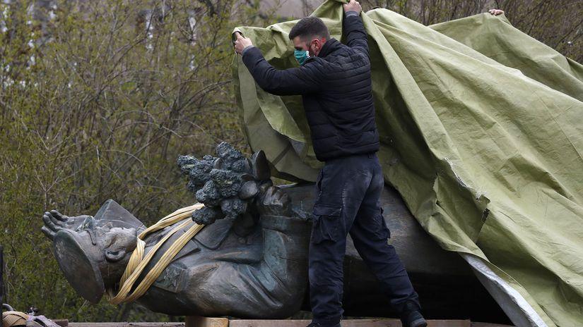 česko socha maršal konev