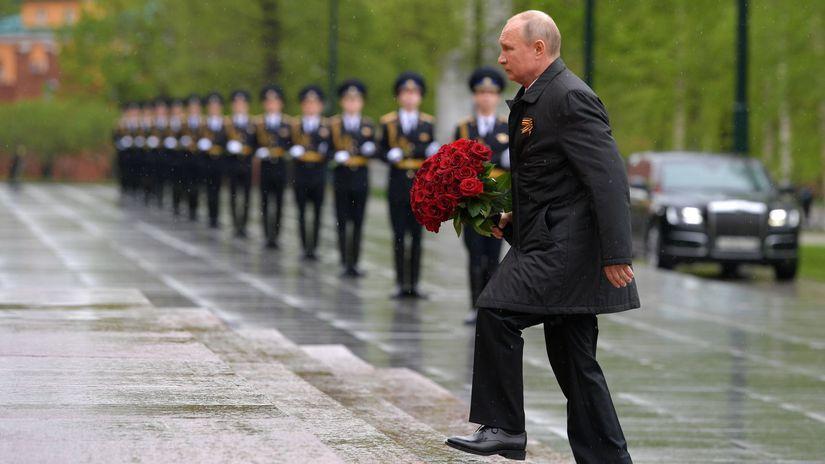 Rusko oslobodenie75 Putin Deň víťazstva