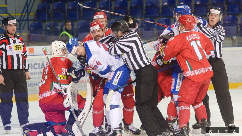 hokej Slovensko - Bielorusko