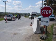 Maďarsko Hosťovce Polícia Hraničný Priechod hranica