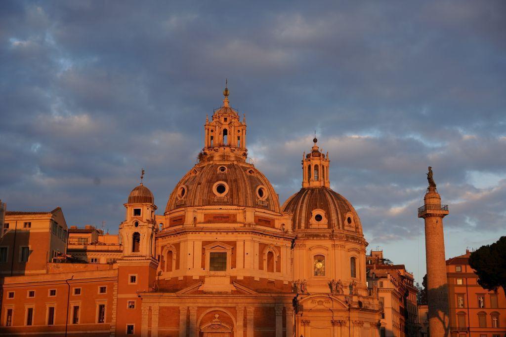 Taliansko, Rím, kostol, chrám, Kostol Panny Márie loretánskej