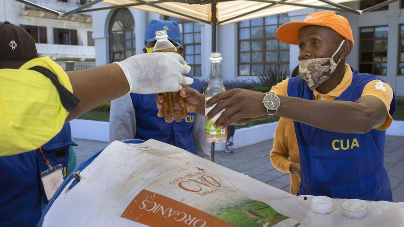 Madagaskar koronavírus bilinný extrakt ochrana...