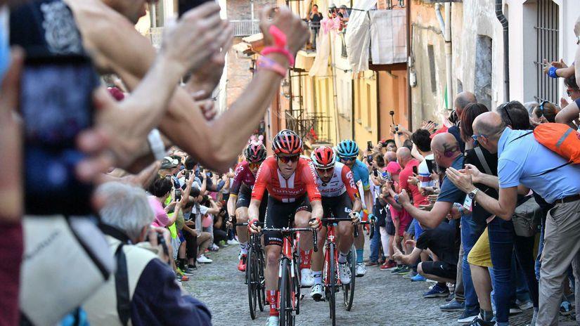 Giro, cyklistika