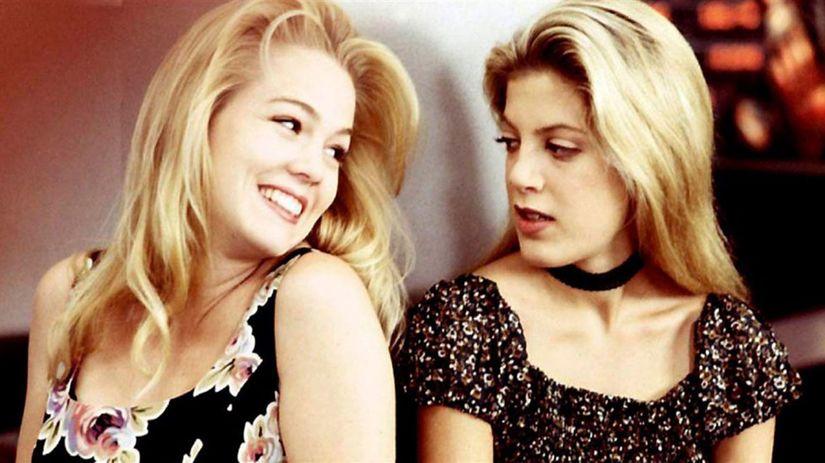 Jennie Garth a Tori Spelling