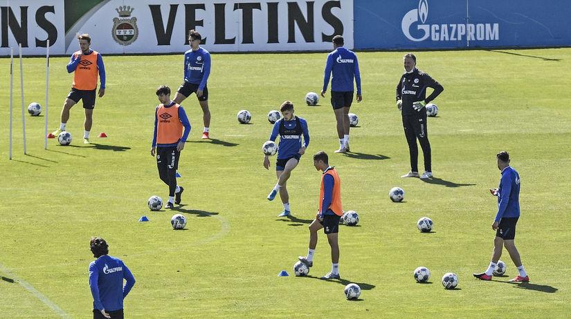 Schalke, tréning