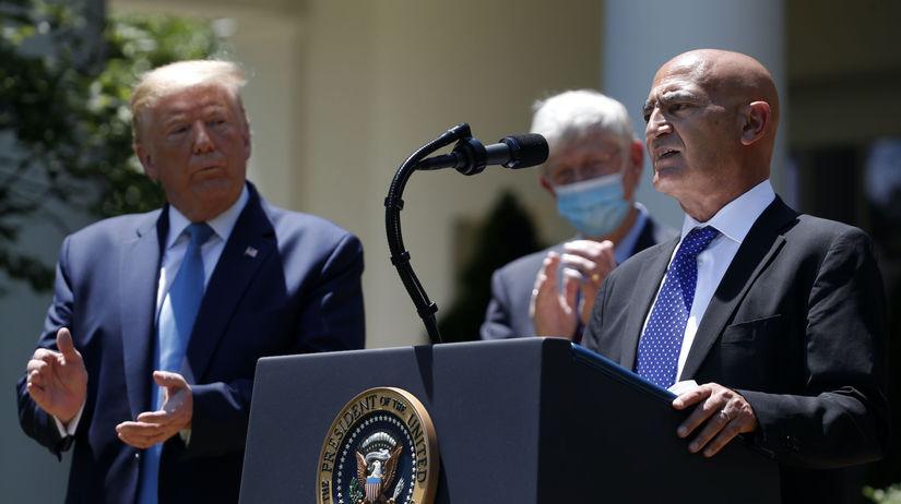 koronavírus, Donald Trump, Moncef Slaoui