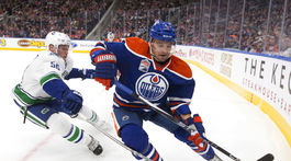 Canucks Oilers Hockey