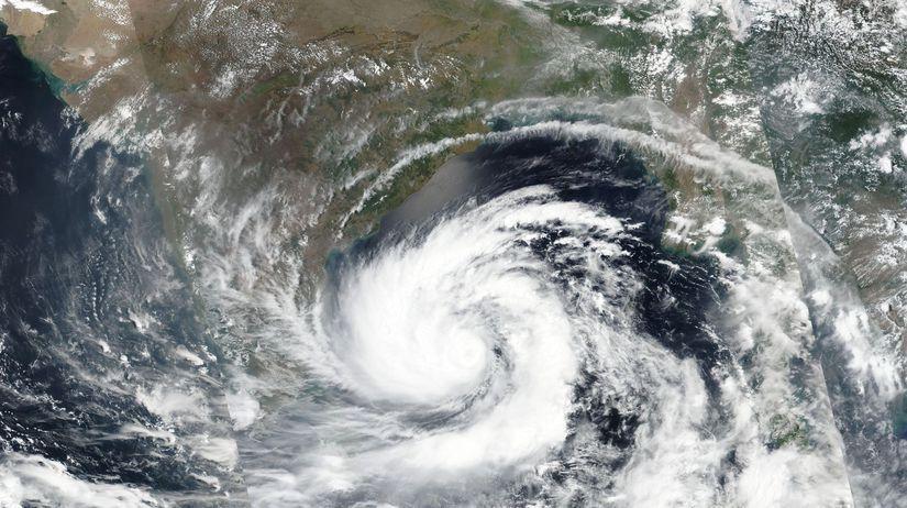 India počasie cyklón