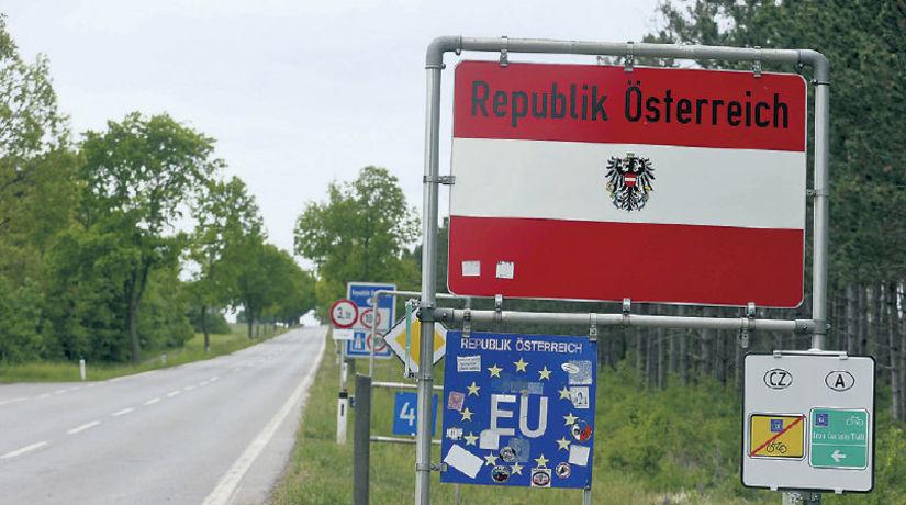 Rakúsko, hranica, Česko