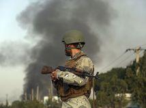 Afganistan Kábul Výbuch