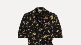 Zavinovacie šaty Ganni. Predávajú sa za 179 eur.