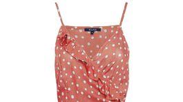 Zavinovacie šaty na ramienkach Figleaves. Predávajú sa za 48 eur.