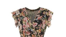 Zavinovacie šaty s florálnou potlačou Liu Jo. Info o cene hľadajte v predaji.