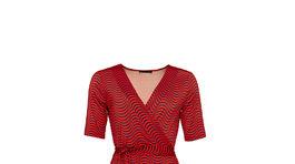 Zavinovacie šaty s grafickou potlačou Pietro Filipi. Info o cene v predaji.