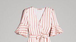 Zavinovacie šaty Twinset, zľavnené v online predaji na 119 eur.