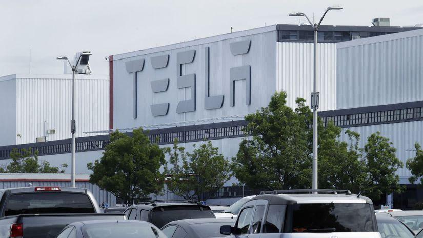 Tesla, fabrika, Fremont