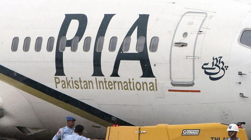 Pakistan Karáči lietadlo dopravné zrútenie