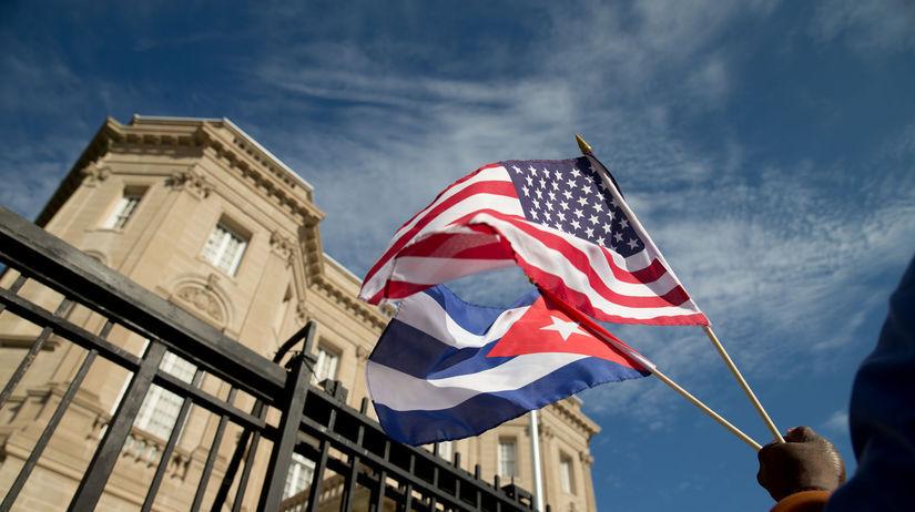 USA Kuba vzťahy diplomatické obnovenie