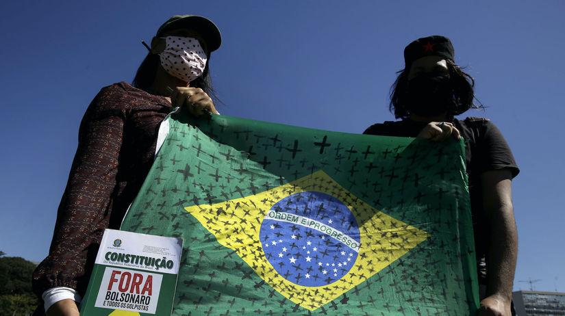 Brazília, koronavírus