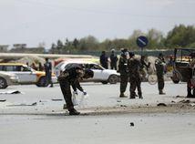 Afganistan Kábul útok bombový