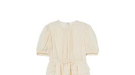 Dámske šaty s výrazným volánom H&M. Predávajú sa za 69,99 eura.