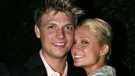 Paris Hilton a jej niekdajší partner Nick Carter na zábere z roku 2004.