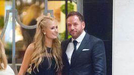 Paris Hilton a jej partner Thomas Gross, s ktorým randila v roku 2015.