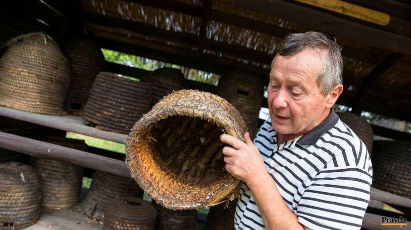 Rudolf Moravčík, včelár, včelí úľ