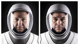 Astronauti Douglas Hurley a Robert Behnken