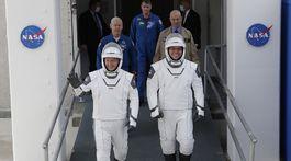 Douglas Hurley  a Robert Behnken astronauti