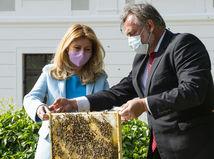 SR Prezidentský palác včelie úle projekt Mestské včely BAX