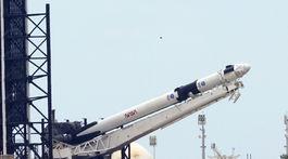 USA Florida raketa SpaceX prípravy štart crew dragon