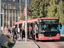 MHD, Bratislava, autobus