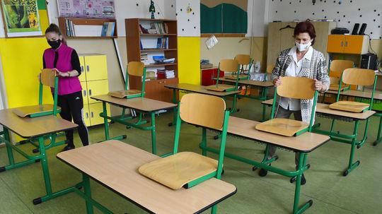 Prešov, školy, koronavírus, trieda