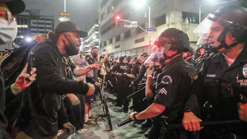 USA Minneapolis polícia protesty