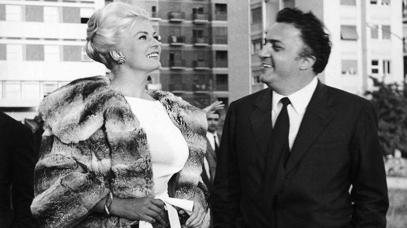 Federico Fellini, režisér, Anita Ekbergová