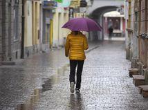 Košice počasie dážď